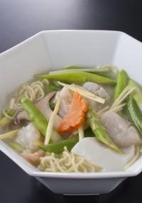 黄河【海の幸の湯麺】k