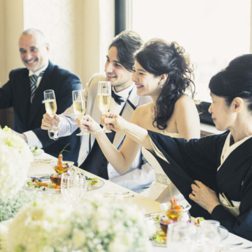 【打合せ1回でもOK】挙式会食◆料理でもてなすシンプル婚相談会