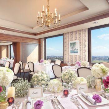 【40名以内希望のレストランウエディングにオススメ】眺望も素敵な最上階のレストラン