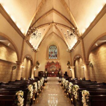 【40名以内希望の教会式のみにオススメ】挙式プラン『ROYAL』