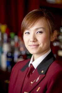 ホテル東日本宇都宮 女性バーテンダー川原