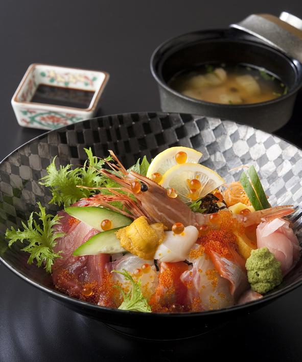 漁火海鮮ちらし寿司御膳